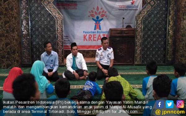IPI Dorong Anak Yatim Bisa Mandiri - JPNN.COM