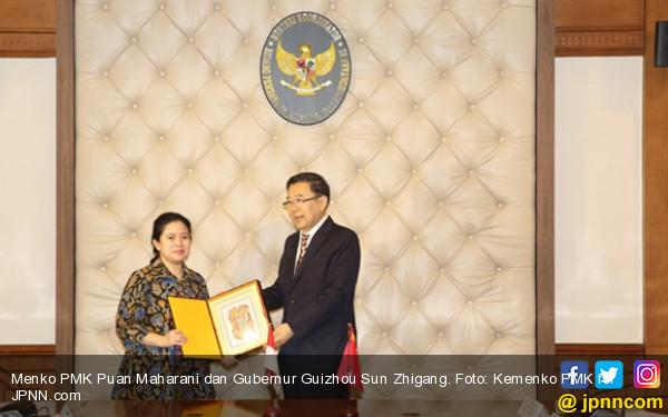 Terima Kunjungan Gubernur Guizhou, Menko PMK Jajaki Kerja Sama Indonesia-Tiongkok - JPNN.COM
