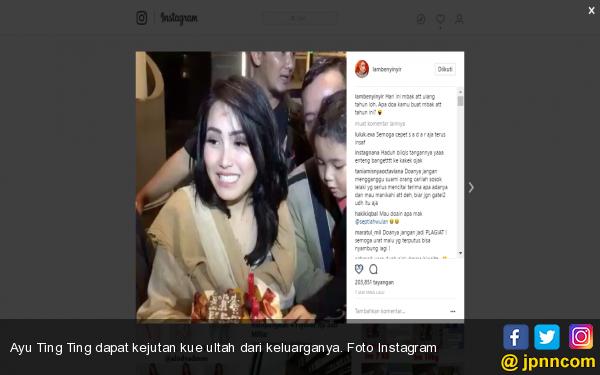 Seperti ini Doa Netizen di Ultah Ayu Ting Ting - JPNN.COM