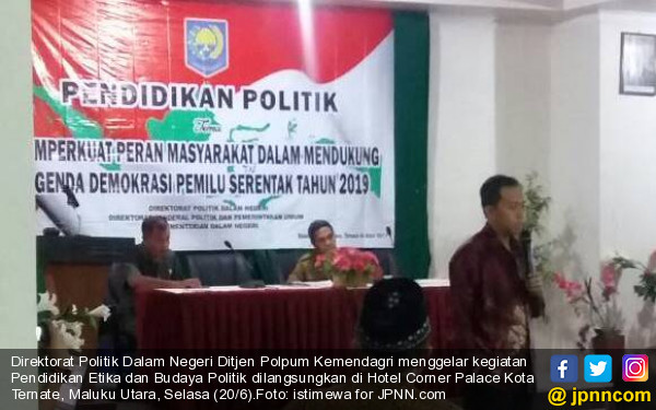Direktorat Politik Dalam Negeri Gelar Kegiatan Pendidikan Politik - JPNN.COM