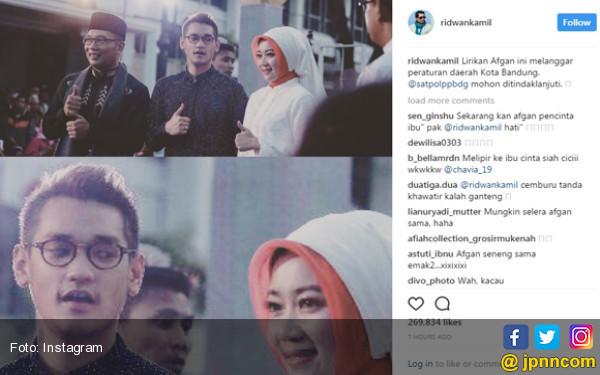 Ridwan Kamil Sebut Afgan Langgar Perda Kota Bandung - JPNN.COM