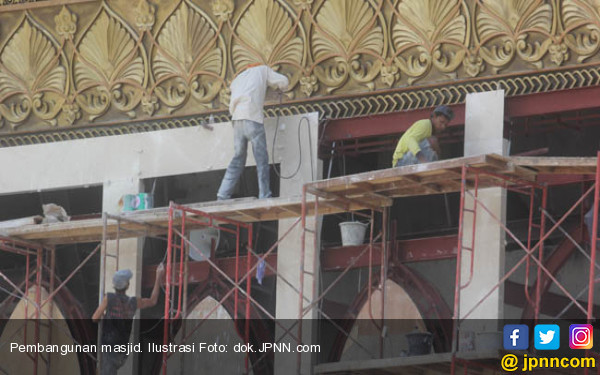 Masjid Agung Mandalika Rampung Sebelum Idul Adha - JPNN.COM