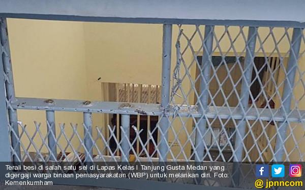 Sipir Tanjung Gusta Cekatan, Tiga Napi Gagal Melarikan Diri - JPNN.COM