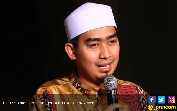 Ustaz Solmed Doakan Reuni Akbar 212 Berlangsung Damai - JPNN.com