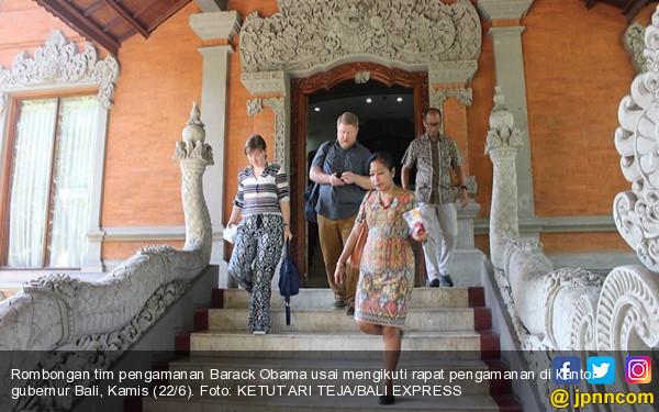 Obama Liburan ke Bali, Maya Soetoro Ikut, Tolak Pengamanan Heboh - JPNN.com