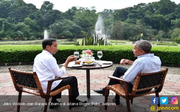 Obama Melahap Habis Suguhan Bakso Kuah Di Istana Bogor Jpnn Com