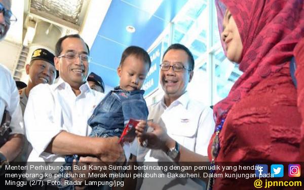 Kemenhub Persiapkan Lampung Sambut 2,3 juta Pemudik - JPNN.COM