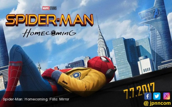 Cihuy! Spider - Man: Homecoming Tuai Pujian - JPNN.com