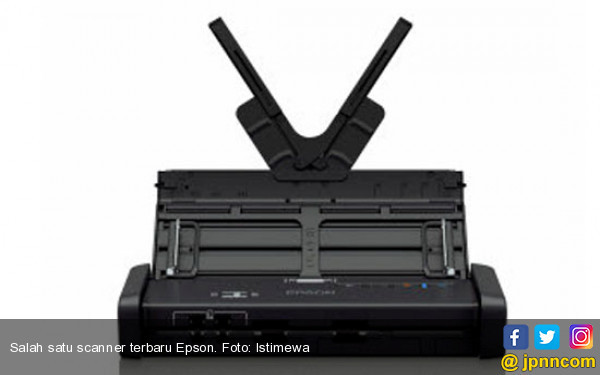 Epson Luncurkan Scanner Portabel, WorkForce DS-310 dan DS-360W - JPNN.COM