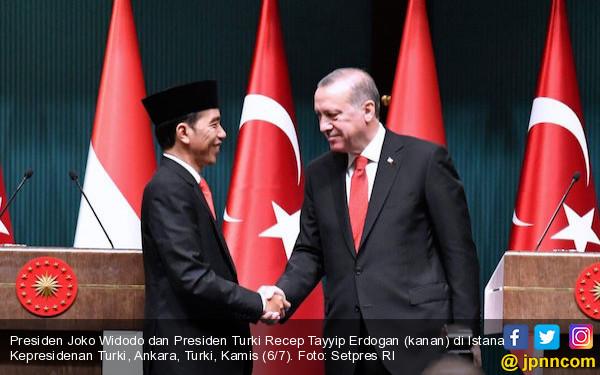 Terima Telepon dari Presiden Erdogan, Pak Jokowi Ucapkan Selamat Idulkurban - JPNN.com