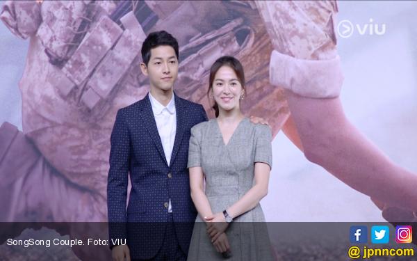 Hmmm...Song Hye-kyo Sering Terima Tamu Pria Bermasker di Hotel? - JPNN.com