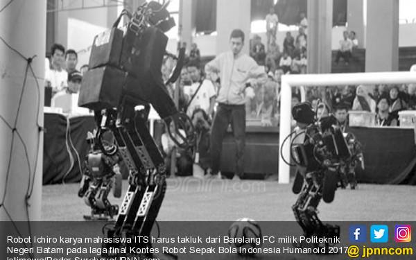 ITS Raih Juara Dua Kontes Robot Sepakbola - JPNN.COM