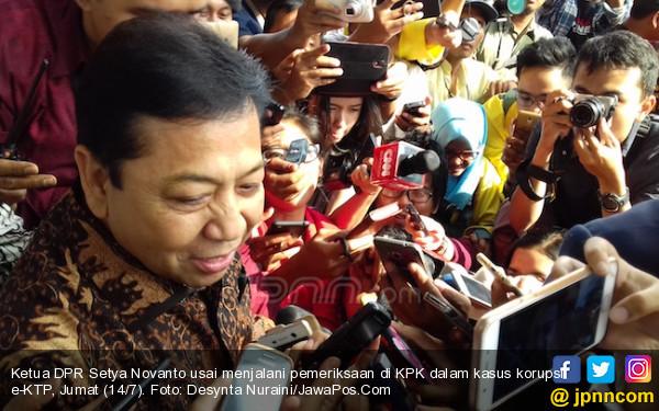 KPK Tetapkan Setya Novanto Tersangka - JPNN.COM