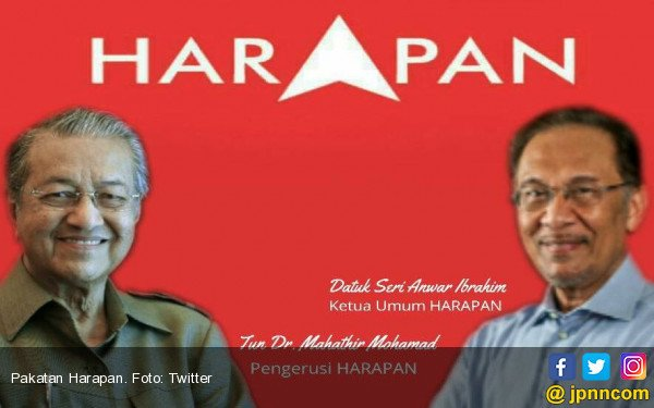 Mahathir Berkuasa, Anwar Ibrahim Bebas Lusa - JPNN.COM