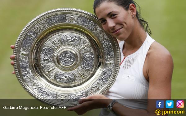 Garbine Muguruza, Ratu Wimbledon yang Baru.... - JPNN.com