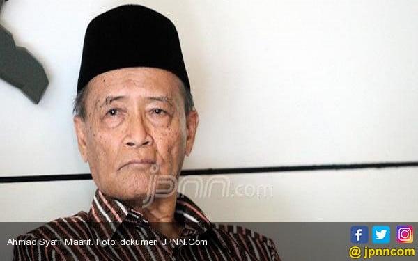 Pesan Buya Syafii: Tak Usah Gubris Klaim Kemenangan Swasta - JPNN.com