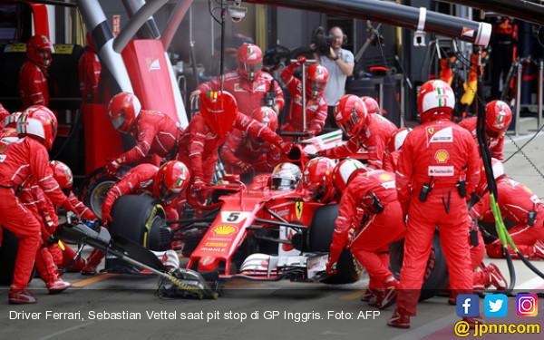 Jelang F1 2018, Ferrari Jadi Tim Pertama Lolos Tes Tabrak - JPNN.COM
