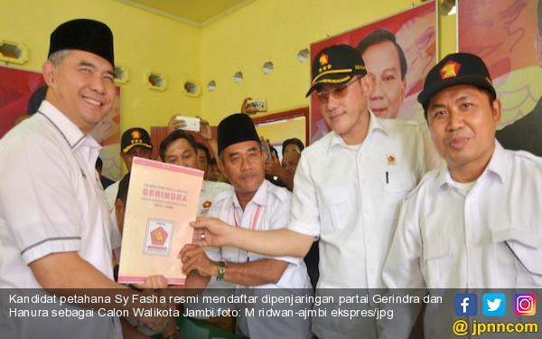 Sy Fasha Jadi Pendaftar Perdana di Gerindra dan Hanura - JPNN.COM