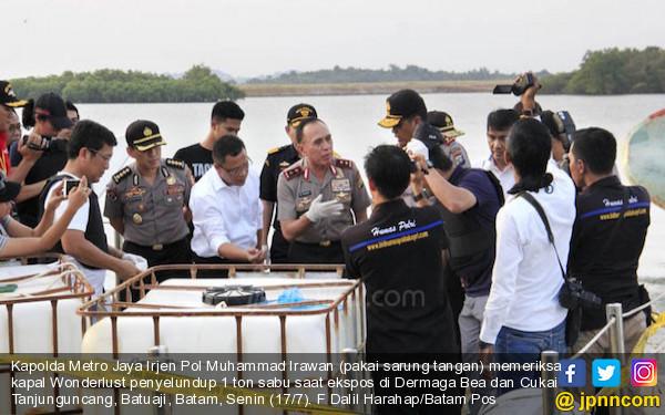 Terungkap! Sabu 1 Ton Itu Dimuat ke Kapal Wanderlust di Perairan Thailand - JPNN.COM