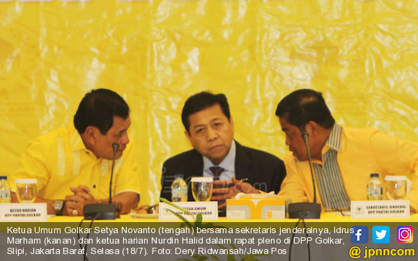 Setnov Pimpin Pleno DPP Golkar, Inilah Keputusannya - JPNN.COM
