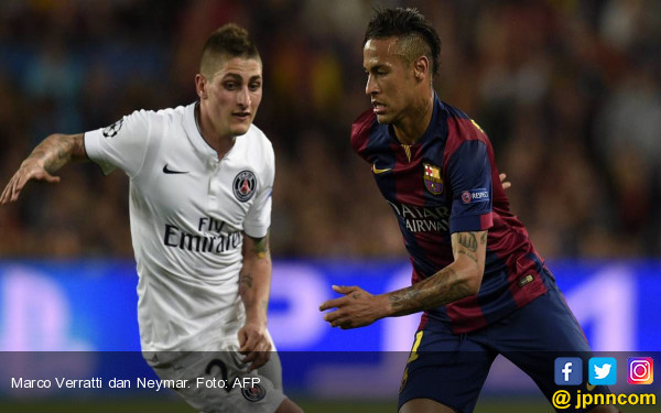 Neymar ke PSG, Verratti ke Barcelona - JPNN.COM