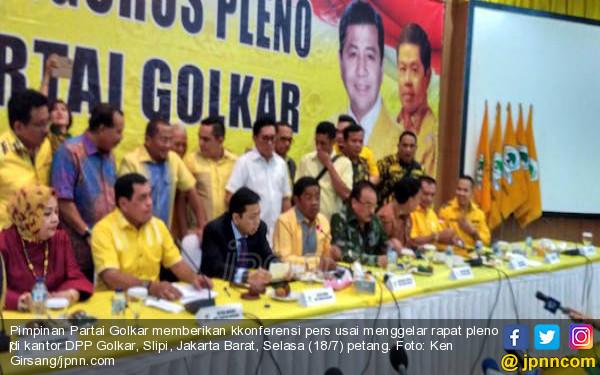 Novanto Tersangka, Golkar Tetap Solid Calonkan Jokowi Capres 2019 - JPNN.COM