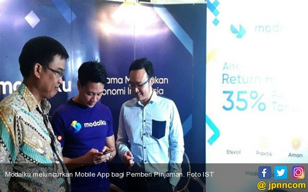 Beri Kemudahan Bagi Pemberi Pinjaman, Modalku Luncurkan Mobile App - JPNN.COM