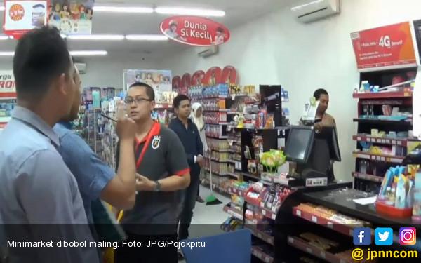 Polisi Kantongi Identitas Perampok Minimarket di Kramat Jati - JPNN.COM
