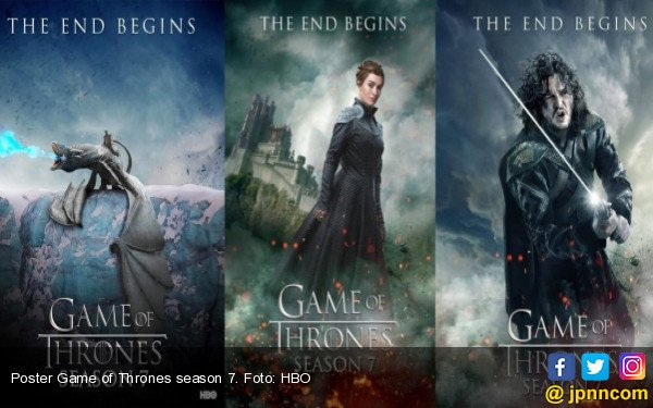 Baca Skrip Season 8, Cast Game of Thrones Menangis Bareng - JPNN.COM