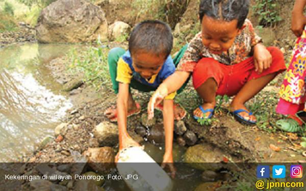13 Kabupaten di Jatim Darurat Bencana Kekeringan - JPNN.COM