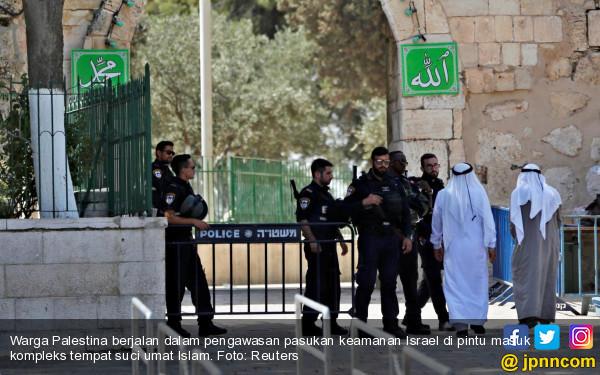Masjid di Tepi Barat Dibakar, Pelaku Tinggalkan Pesan dalam Bahasa Israel - JPNN.com