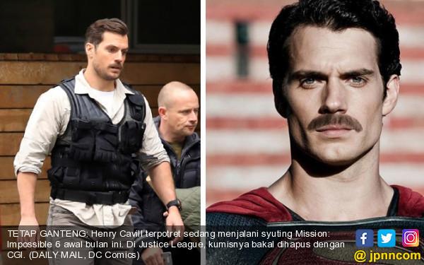 Kumisnya Dipergunjingkan, Begini Reaksi Superman - JPNN.COM