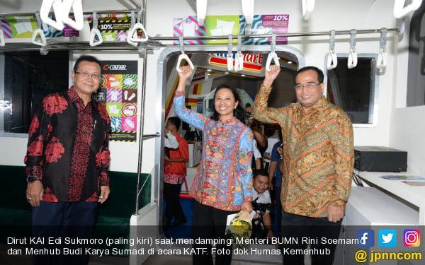 Pembangunan TOD, Menhub Minta Bu Rini Tunjuk Anak Buahnya - JPNN.com