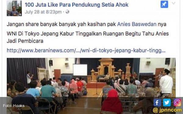 Acara Anies Baswedan Diserang Hoaks - JPNN.COM