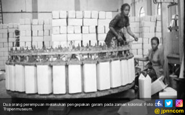 Krisis Garam Karena Ulah Kompeni - JPNN.COM
