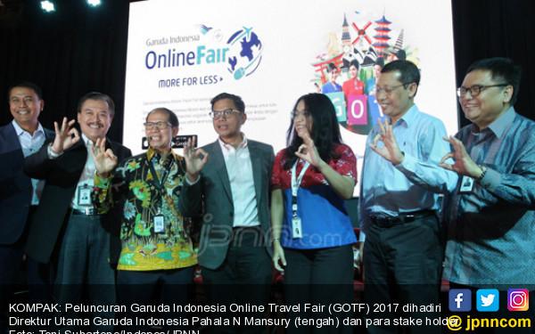 Gelar GATF di 22 Kota, Garuda Targetkan Raih Rp 501 miliar - JPNN.COM