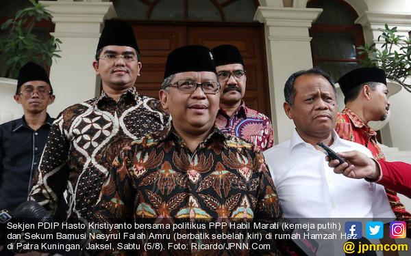 Ayam Goreng plus Gudeg Jadi Penyambung Silaturahmi Bu Mega dan Hamzah Haz - JPNN.com