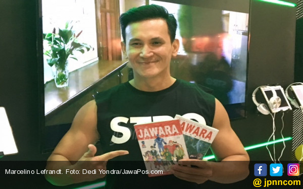 Marcelino Lefrandt Didesak Anak untuk Kembali Menikah - JPNN.COM