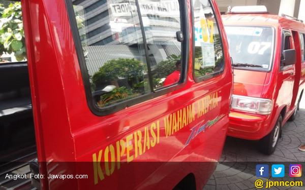 Tolak Angkutan Online, Sopir Angkot Kembali Gelar Aksi Mogok - JPNN.COM