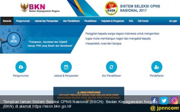 Sistem Seleksi Cpns Nasional Download Lengkap