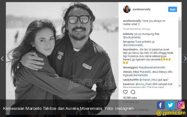 Aurelie Moeremans Pastikan Akan Setia Menunggu Ello Bebas  - JPNN.COM