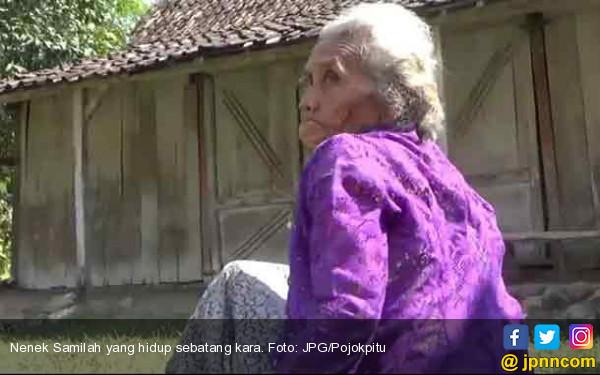 Mari Bantu Nenek Samilah, Lansia Sebatang Kara di Gubuk Reot - JPNN.COM