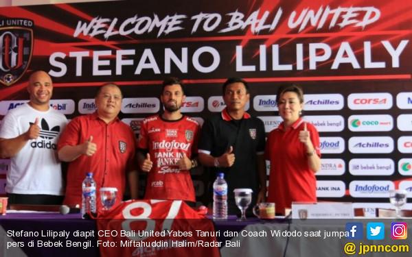 Ini Alasan Stefano Lilipaly Pilih Bali United dan Nomor Punggung 87 - JPNN.COM
