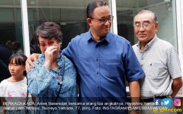 Mengharukan, Anies Baswedan Bertemu Orang Tua Angkat di Jepang - JPNN.COM