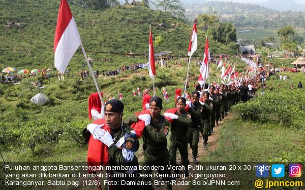 Indonesia Raya Tiga Stanza Maknanya Begitu Dalam, Bergelora! - JPNN.COM