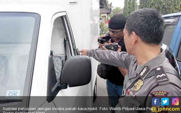Kaca Mobil Pecah, Uang Rp 600 Juta Raib - JPNN.COM
