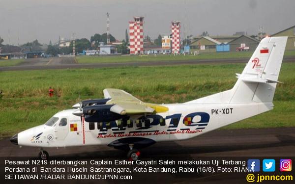 Pesawat N219 Karya Anak Bangsa, 100 Persen - JPNN.com
