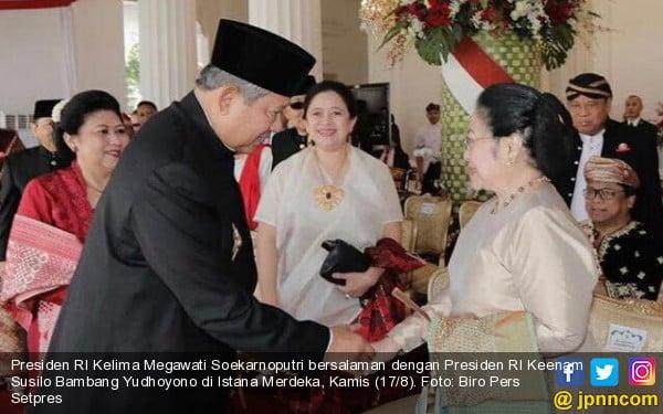 Pak SBY dan Bu Mega Sudah Bersalaman Lagi, Tapi... - JPNN.com