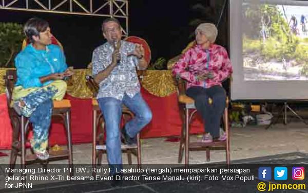 Tanjung Lesung Triathlon Tawarkan Pemandangan Eksotis