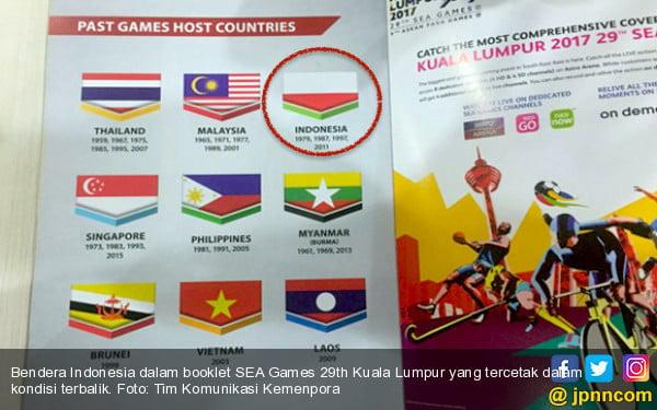 Pemasangan Bendera Indonesia Terbalik Diduga Sebuah Kesengajaan - JPNN.COM